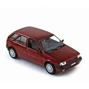 Fiat tipo 1993 dark red  Norev 772966