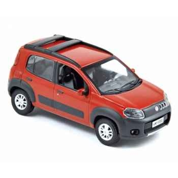 Fiat uno way 2010 red  Norev 772961