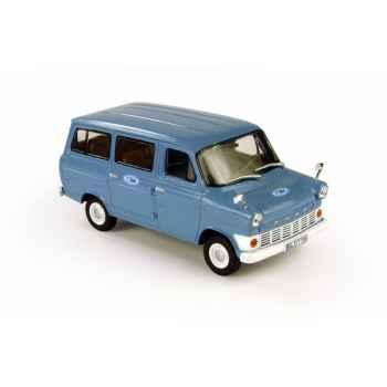 Ford transit bus bleu ciel Norev 270526