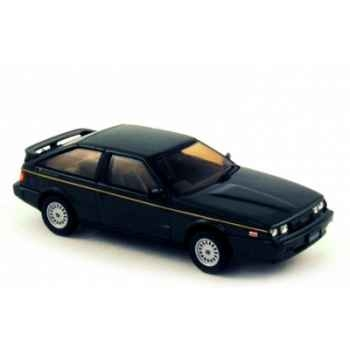 Isuzu piazza nero xe handling by lotus ebony black 1988  Norev 800754
