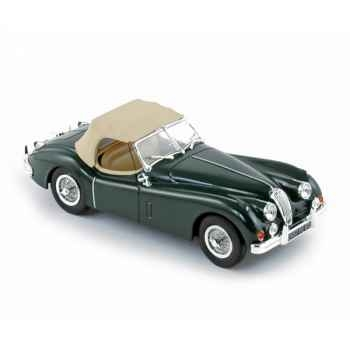 Jaguar xk140 roadster 1957 british racing green  Norev 270030
