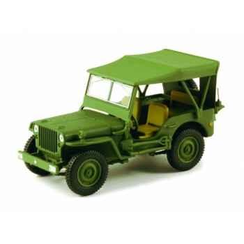 Jeep willys armée américaine Norev 845010