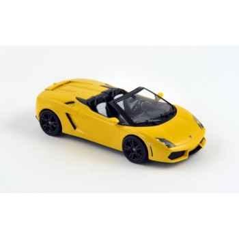 Lamborghini gallardo lp 560-4 spyder 2009 yellow  Norev 760026