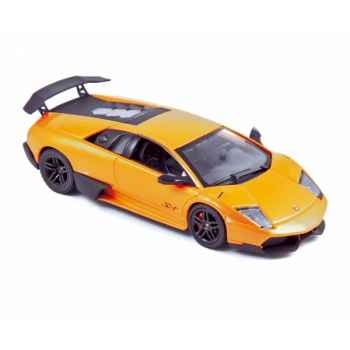 Lamborghini murcielago lp670-4 super veloce 2009 orange  Norev 760027