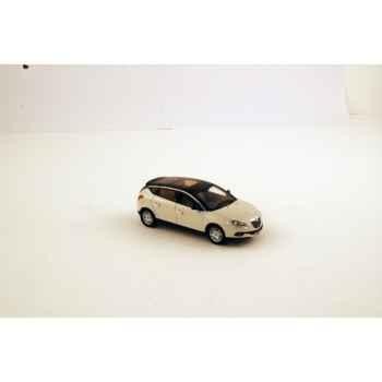 Lancia delta ivoire toit noir mat 2008 Norev 785010