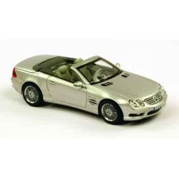 Mercedes-benz sl 55 amg gris argent Norev 351130