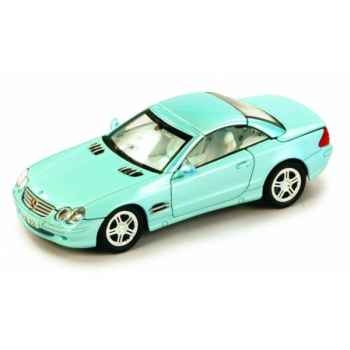 Mercedes-benz sl500 bleu Norev 351103