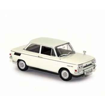 Nsu prinz 1000tt blanc 1966 Norev 831005