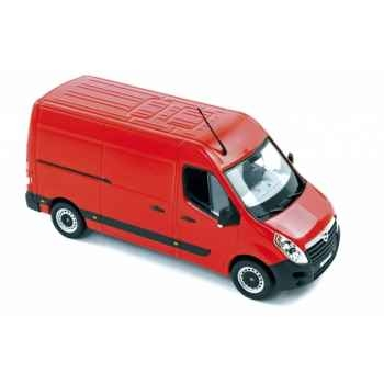 Opel movano 2010 red Norev 360005