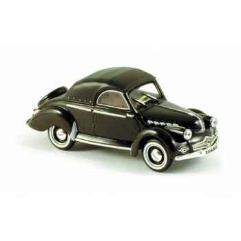 Panhard dyna x cabriolet noir Norev 451801