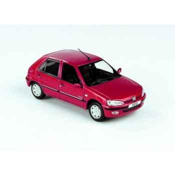Peugeot 106 citadine 5p rouge lucifer Norev 471060