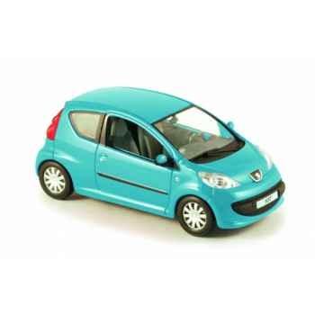 Peugeot 107 3 portes bleu linacite Norev 470170