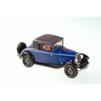 Peugeot 201 coupé bleu foncé 1931 Norev 470214