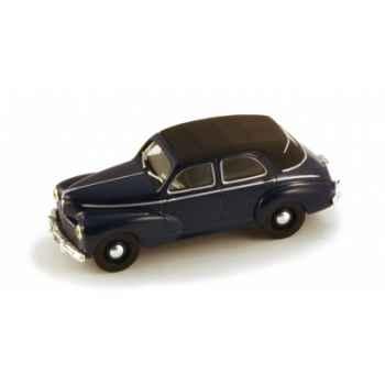 Peugeot 203 découvrable bleu somalie Norev 471014
