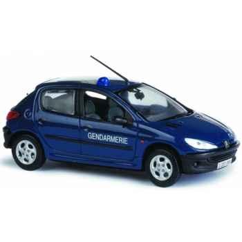 Peugeot 206 gendarmerie Norev 472609