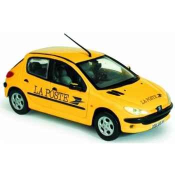 Peugeot 206 la poste Norev 472607