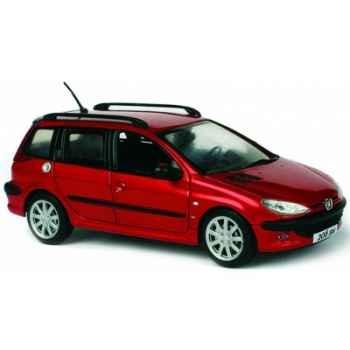 Peugeot 206 sw rouge lucifer Norev 472633