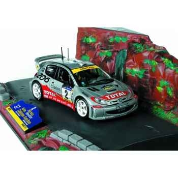 Peugeot 206 wrc catalogne 2001 Norev 472612