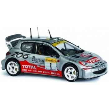 Peugeot 206 wrc monte-carlo 2001 Norev 472611