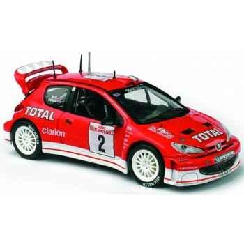 Peugeot 206 wrc monte-carlo 2003 Norev 472617
