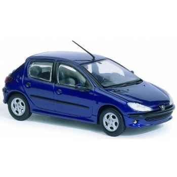 Peugeot 206 xt premium bleu r?cif Norev 472600