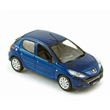 Peugeot 206+ 2009 bleu ipanema  Norev 472651