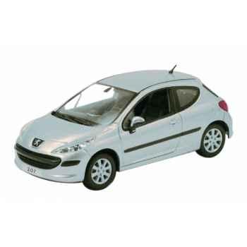 Peugeot 207 3p gris aluminium Norev 472732