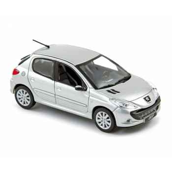 Peugeot 207 bresil 2008 silver  Norev 472761