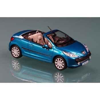 Peugeot 207cc bleu neysha  2007 Norev 472770