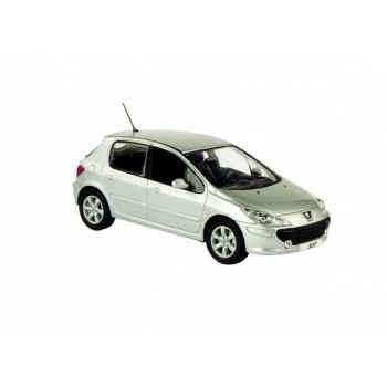 Peugeot 307 5p restylée sport gris aluminium Norev 473718