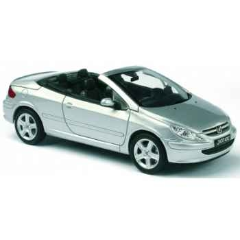 Peugeot 307 cc gris aluminium Norev 473762