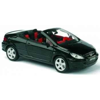 Peugeot 307 cc noir Norev 473763