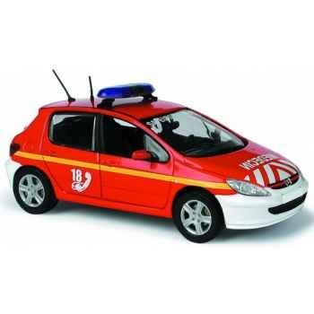 Peugeot 307 pompier m?decin Norev 473731