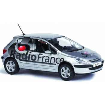 Peugeot 307 radio france Norev 473730