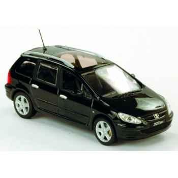Peugeot 307 sw noir Norev 473715