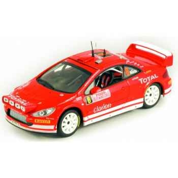 Peugeot 307 wrc monte-carlo 2005 Norev 473793