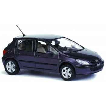 Peugeot 307 xt pourpre Norev 473703