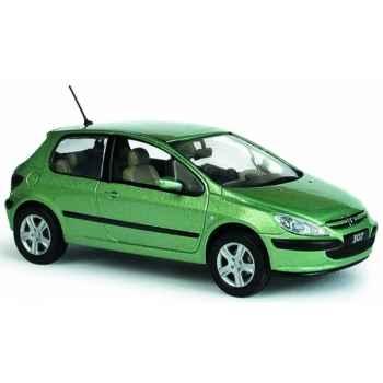Peugeot 307 xt vert ouranos Norev 473701