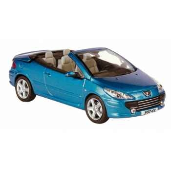 Peugeot 307cc restylée bleu neysha Norev 473768