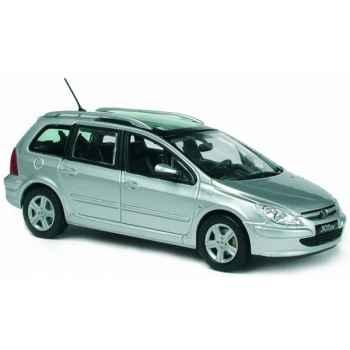 Peugeot 307sw gris aluminum Norev 473713
