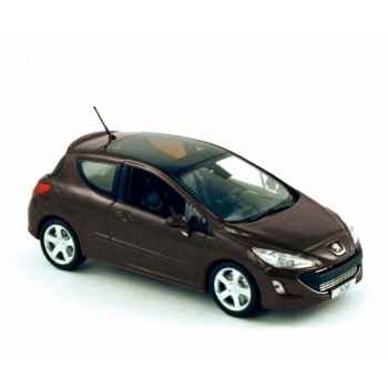Peugeot 308 175 thp 2008 perla black Norev 473804