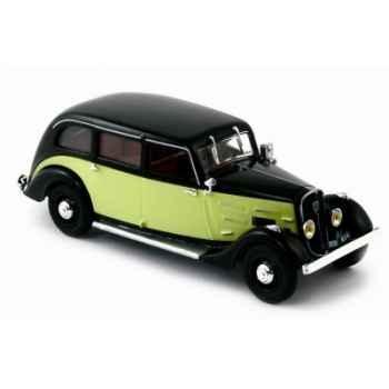 Peugeot 401 longue taxi noir et jaune 1935  Norev 474103
