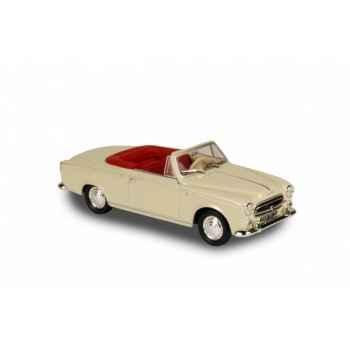 Peugeot 403 cabriolet crème 1960 Norev 474354