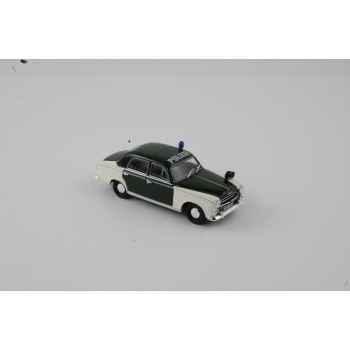 Peugeot 403 polizei 1959  Norev 474330