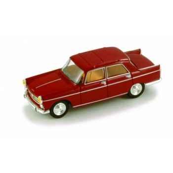Peugeot 404 berline rouge rubis Norev 474413