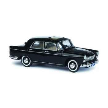 Peugeot 404 noir 1960 Norev 474401