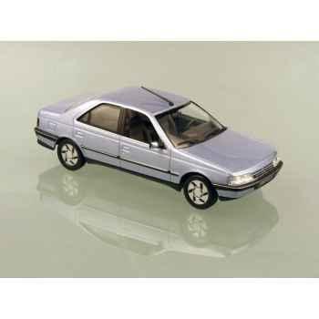 Peugeot 405 berline sri 90/91 bleu-gris Norev 474502
