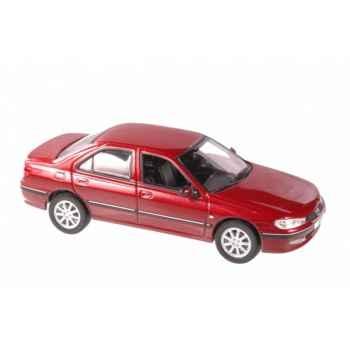 Peugeot 406 berline rouge vulcain 2003 Norev 474603