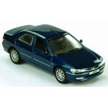 Peugeot 406 berline st pack sport 2000 bleu piana Norev 474600