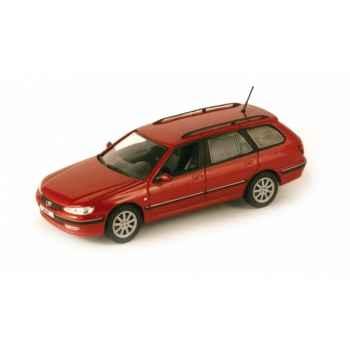 Peugeot 406 break sport rouge lucifer Norev 474651